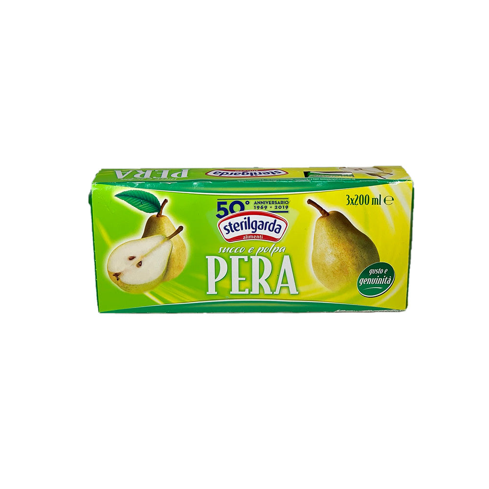 Sterilgarda Pear Juice 3x200ml