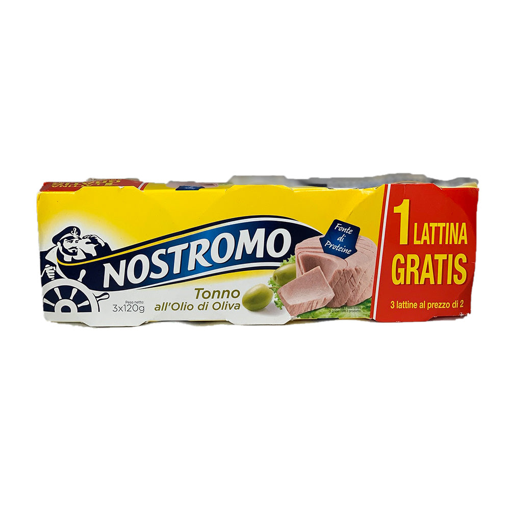 Nostromo Tuna with olive oil 3x120g
