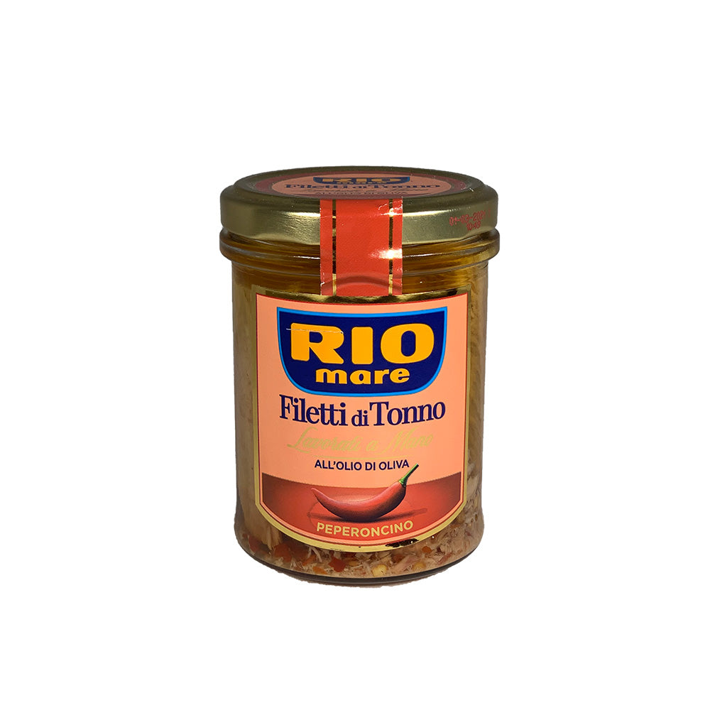 Rio Mare Tuna with olive oil and hot pepper 180g