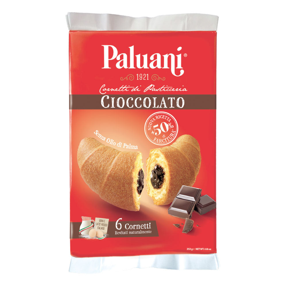 Chocolate croissants Paluani 252g