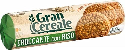 Gran Cereale croccante con riso, crispy with rice 230g