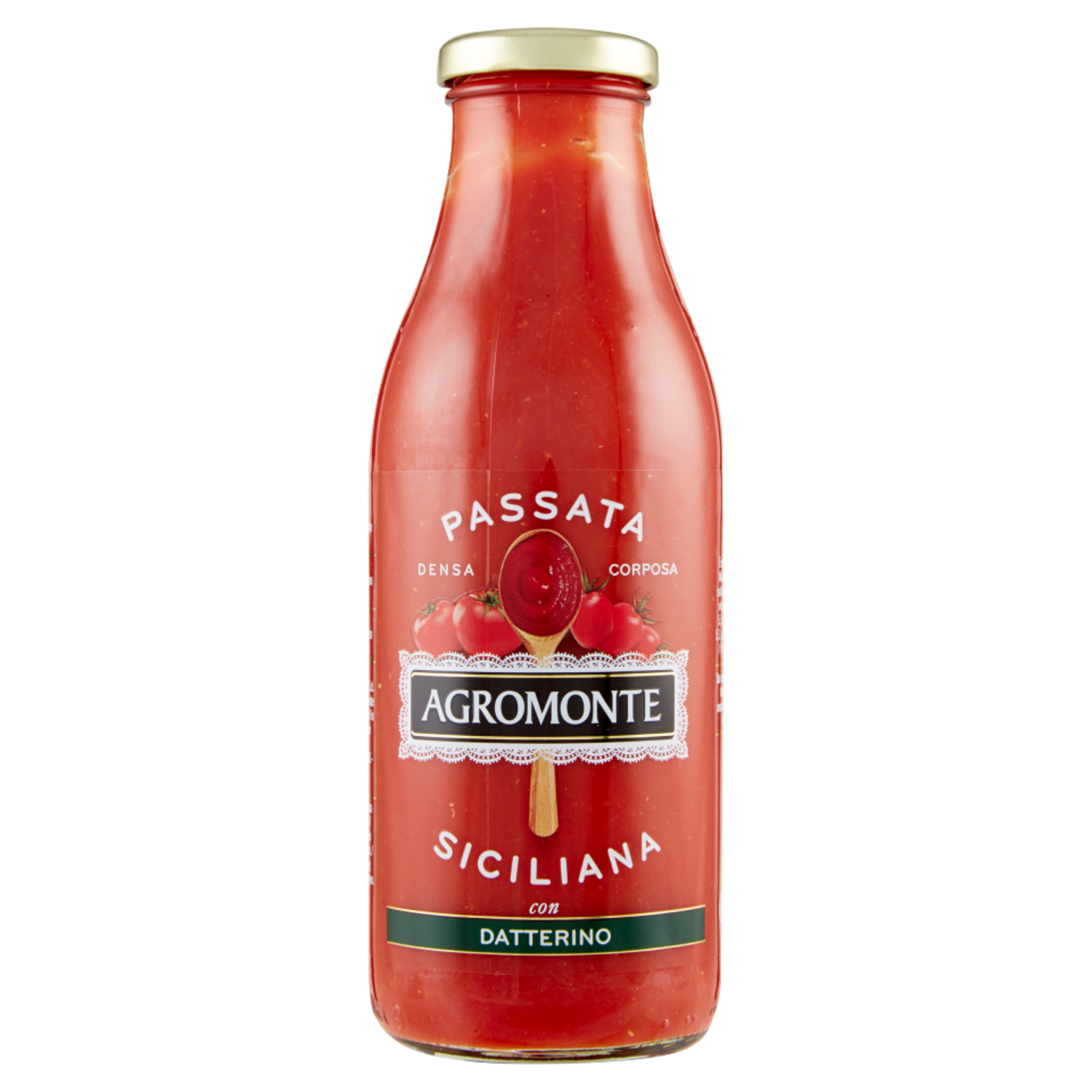 Tomatoes purée, Agromonte passata of tomatoes and datterino tomatoes 520g