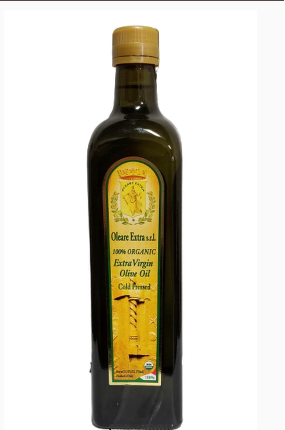 Oleara extra, 100% organic Extra virgin olive oil
