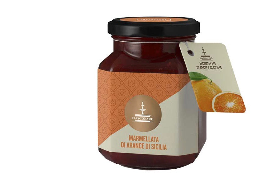 Sicilian Orange marmalade 360g. Fiasconaro