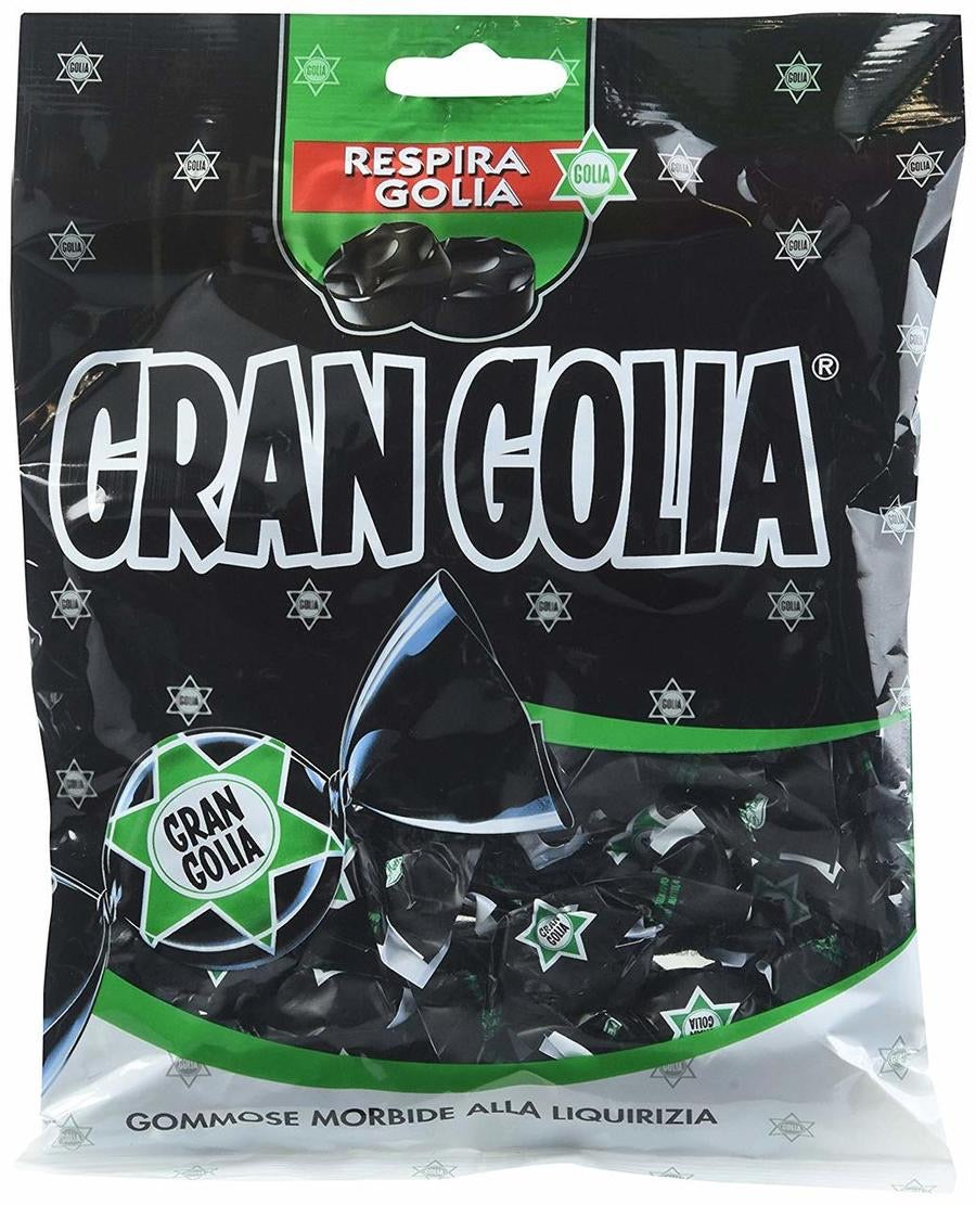 Gran Golia licorice gummy candies