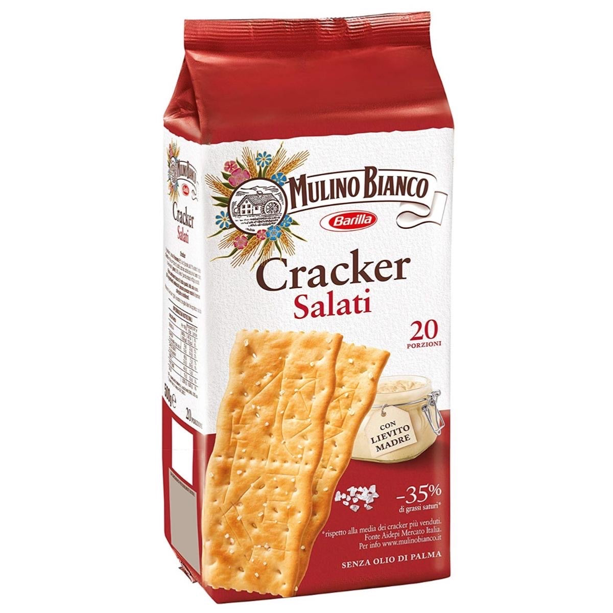 Mulino Bianco Salted crackers 20 portions