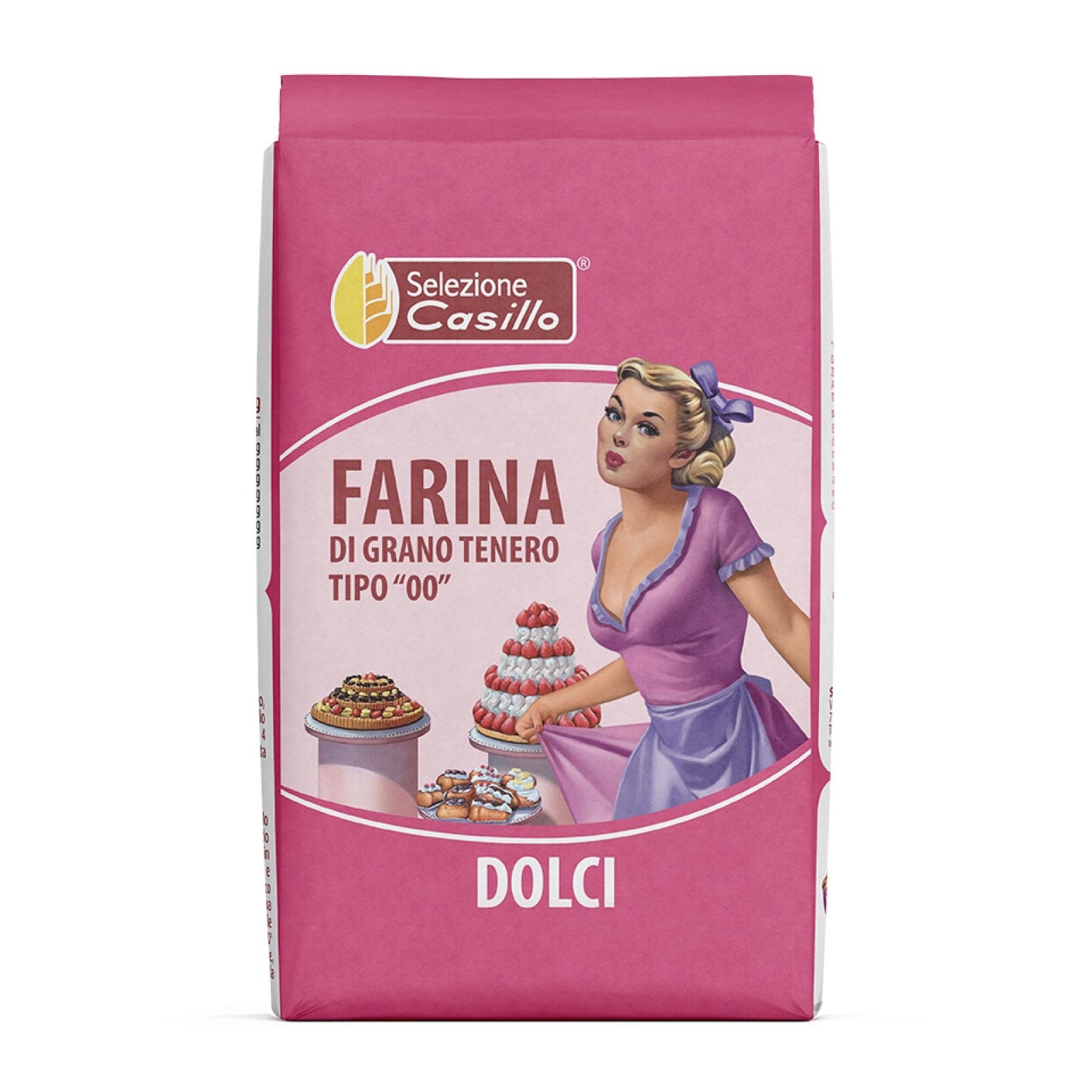 Flour grano tenero for sweets 1 Kg (maximum 3 packs)( Casillo brand)