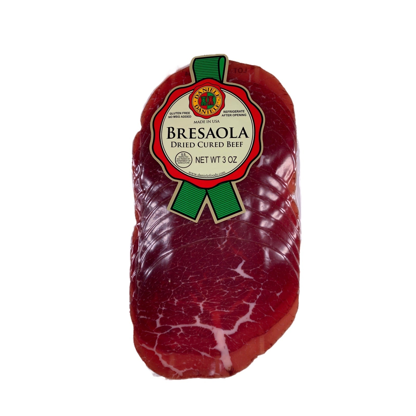 Daniele Bresaola 3oz, dry cured beef