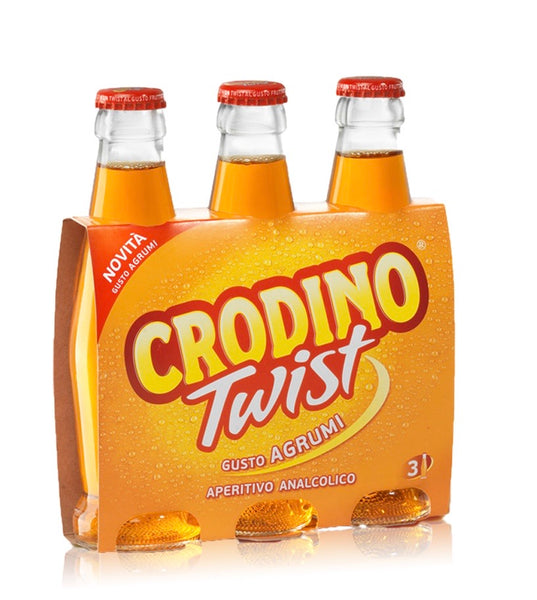 Crodino Twist citrus Fruits flavor