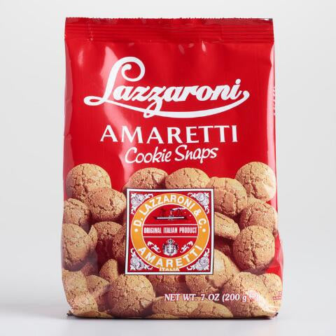 Amaretti Lazzaroni cookie snaps 200g