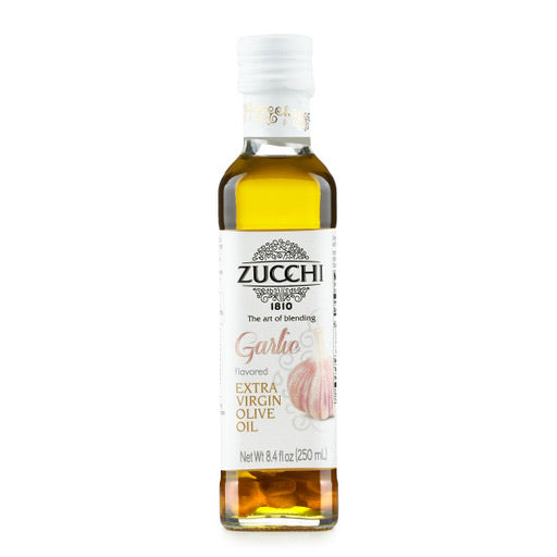Zucchi Garlic Flavored extra Virgin Olive Oil 8.4 oz