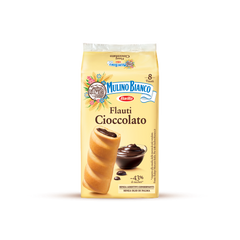 Mulino Bianco Flauti with chocolate cream