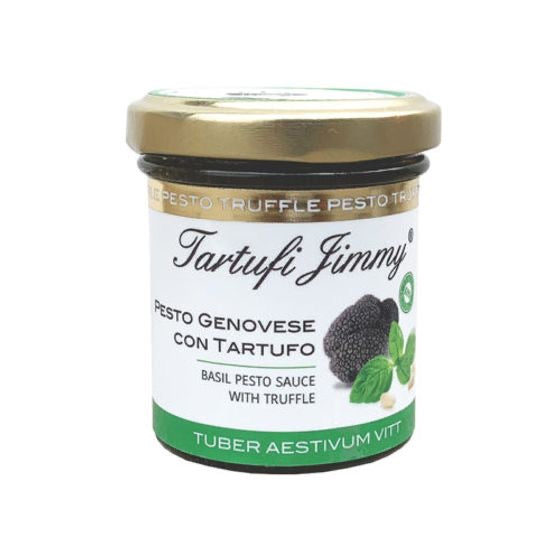 Pesto sauce Genovese with truffle, Jimmy Tartufi