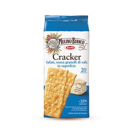 Mulino Bianco Crackers lightly salted 500g