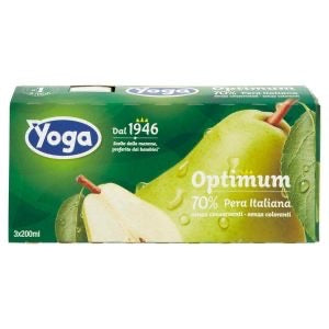Yoga pear juice 3x200 ml