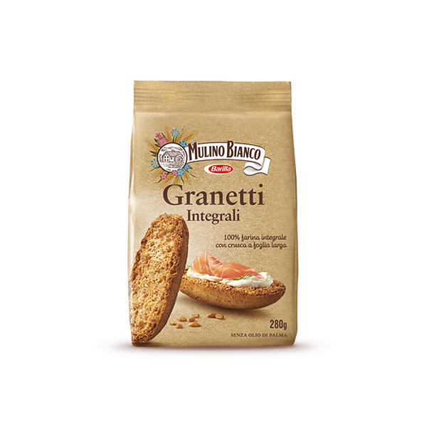 Granetti Whole wheat Mulino Bianco 280g