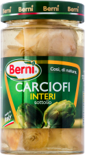 Berni whole artichokes in sunflower oil 285g