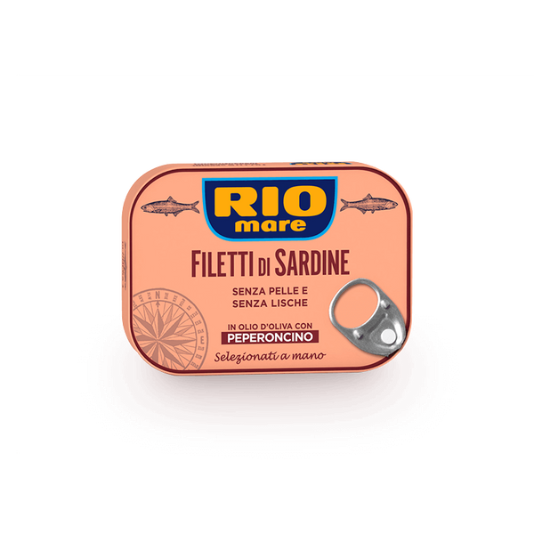 Rio Mare Sardine Fillets with chili peppers 105g