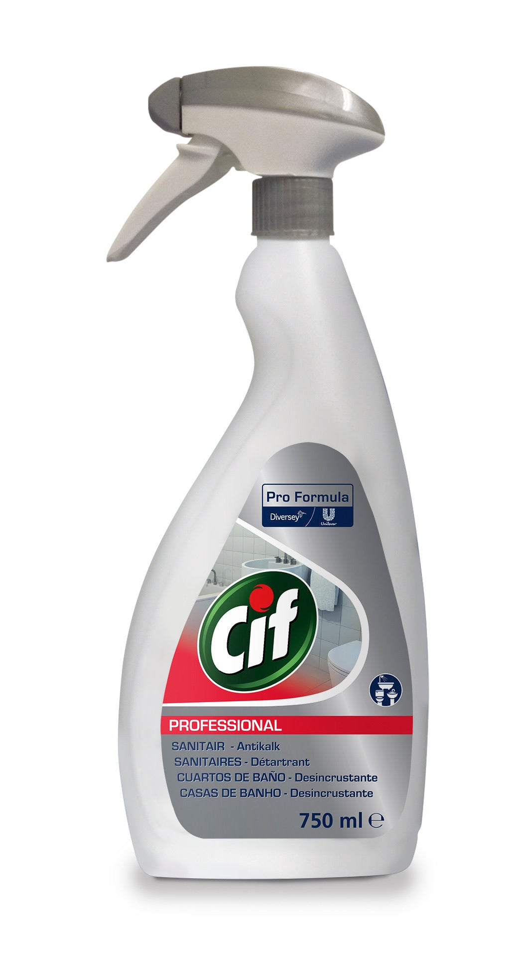 Cif Professional bathroom Cleaner 750ml