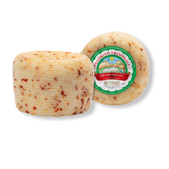 Pecorino Primo Sale with red chili peppers, Taibi, approx. 1lb