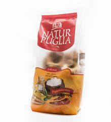 Natur Puglia Taralli with chili pepper, peperoncino 250 g