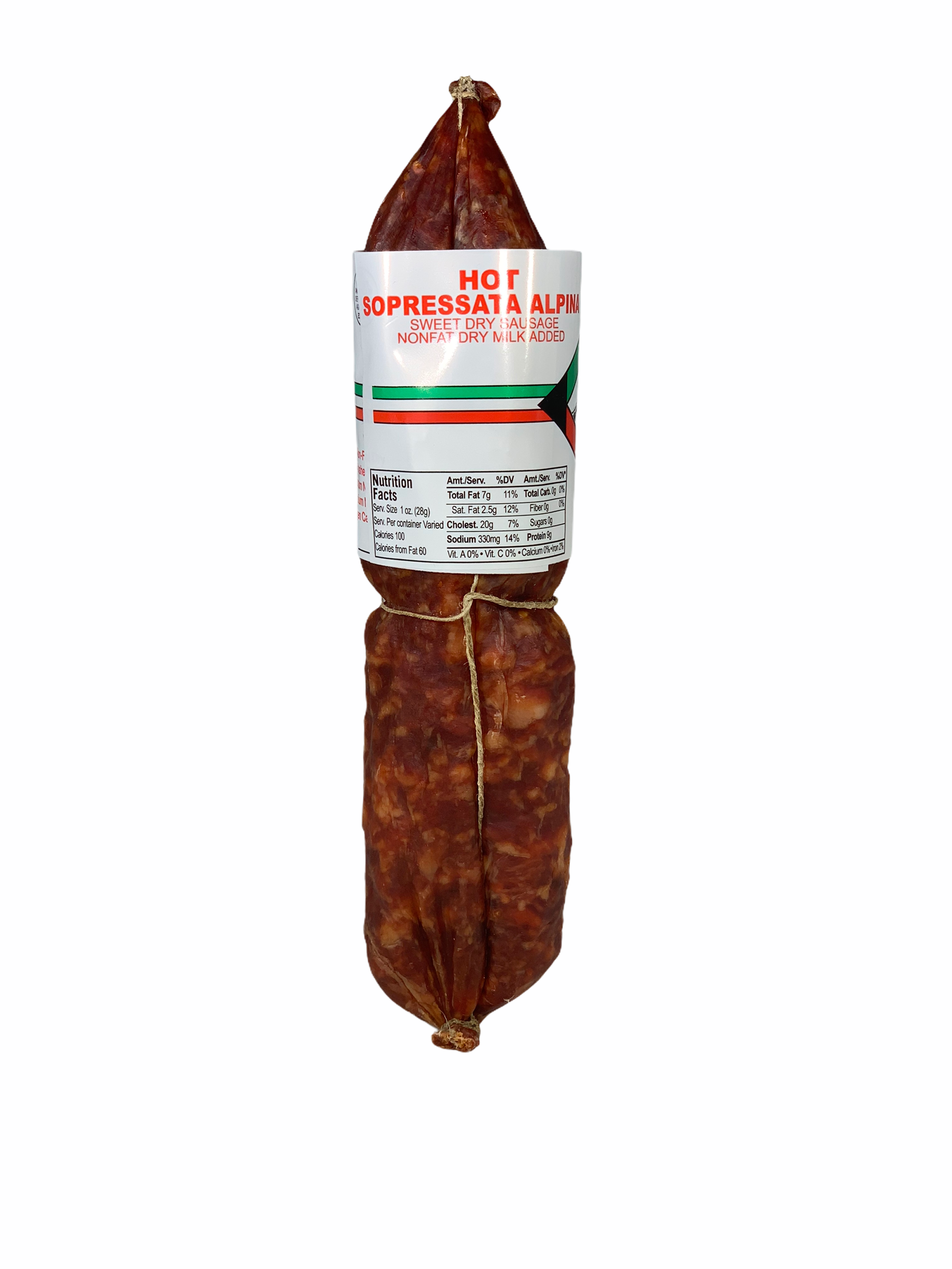 Hot Soppressata Alpina, Alps approximately 1Lb