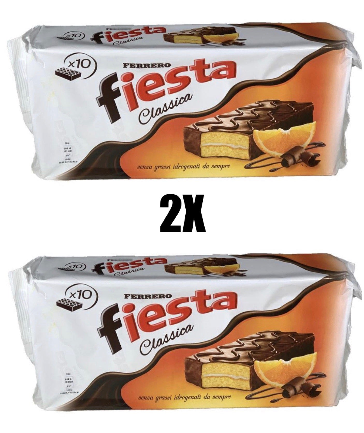 Bundle 2 packs of Fiesta Ferrero (20 snacks)