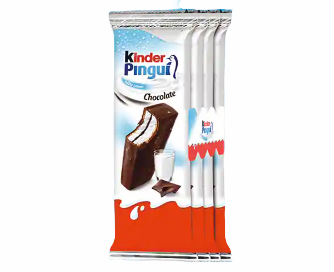 Kinder Pingui 4 snacks