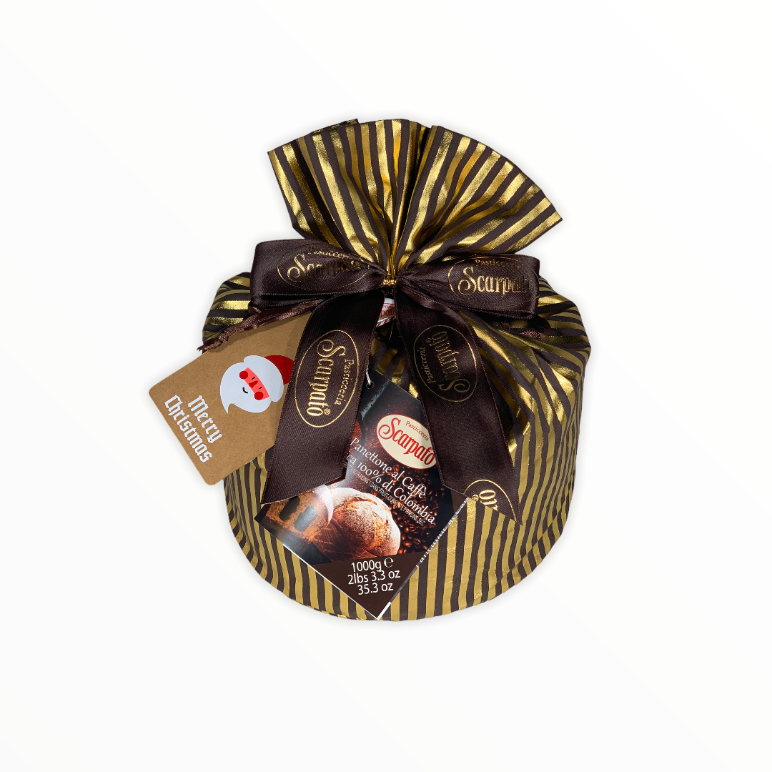 Scarpato Panettone with Coffee Cream 1kg