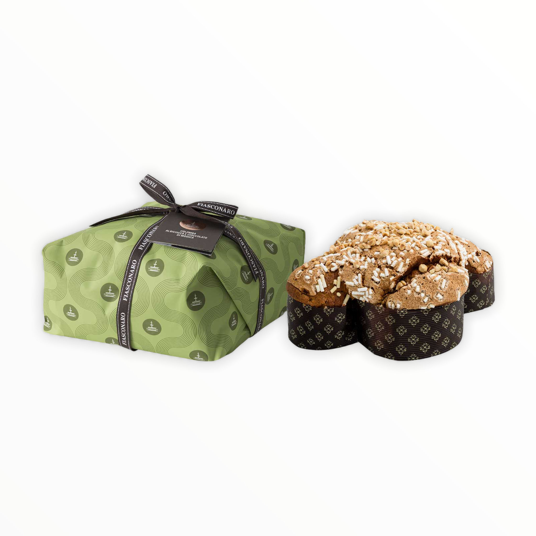 Fiasconaro Colomba with Apricot and Chocolate 2.2lb
