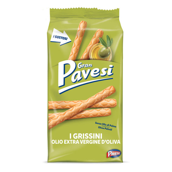 Pavesi Breadsticks with olive oil 230g