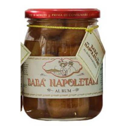 Babà napoletani jar glass 500g