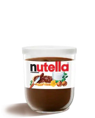 Nutella Ferrero Made in Italy jar glass 200g