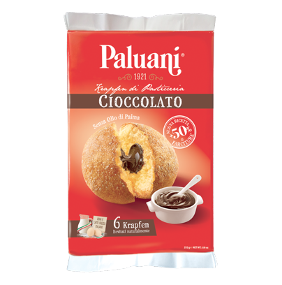 Krapfen chocolate Paluani