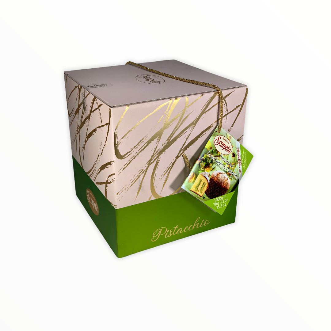 Panettone Scarpato with Pistachio Cream 1kg