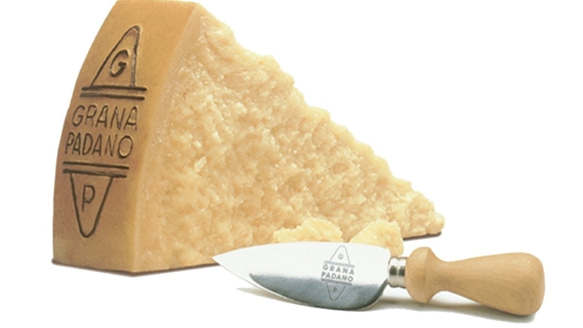 Grana Padano Cheese DOP Il Villaggio approximately 0.5LB