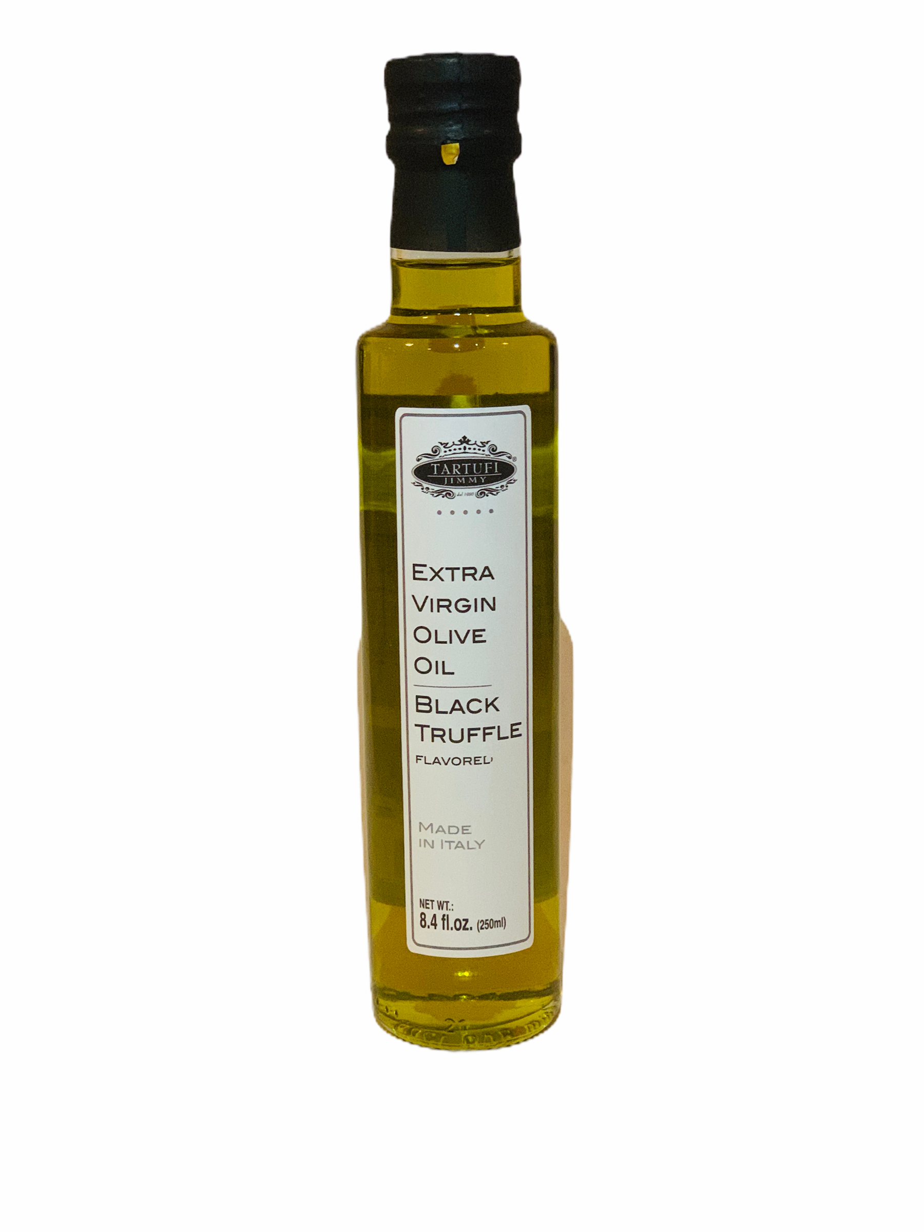 Extra Virgin Olive Oil Black Truffle Flavored, Jimmy Tartufi
