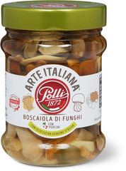 Polli mushrooms boscaiola style with EVOO 280g
