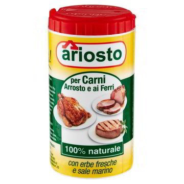Ariosto Fresh herbs and sea salt for meat and barbecue 80g