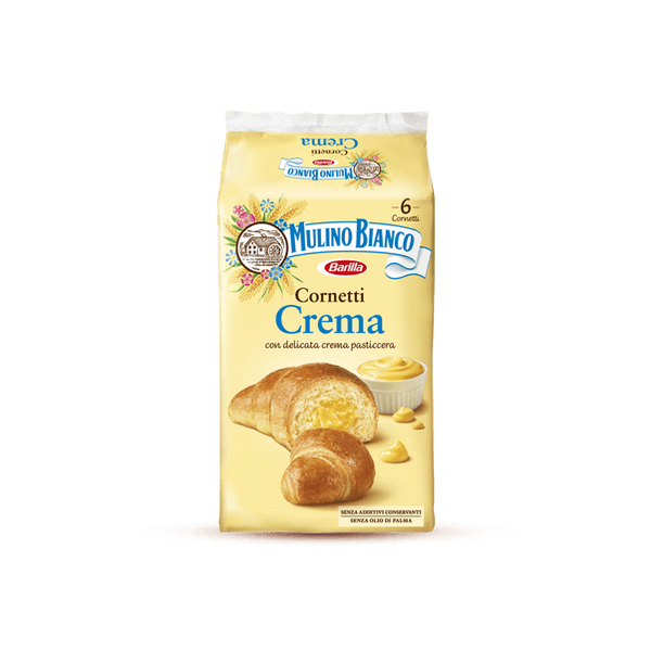 Mulino Bianco croissants Custard cream