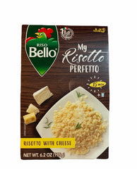 Riso Bello, my risotto Perfetto with cheese