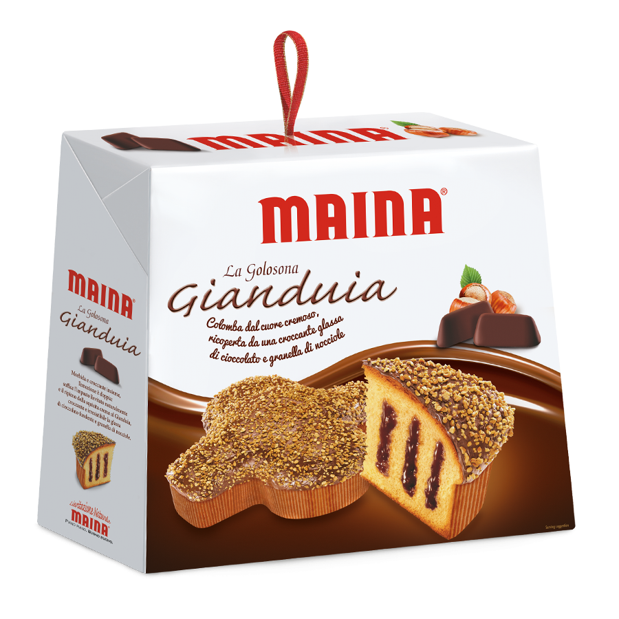 Colomba Maina Gianduia Easter