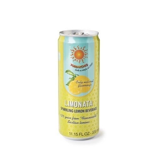 Limonata Tomarchio, lemon soda, 33cl