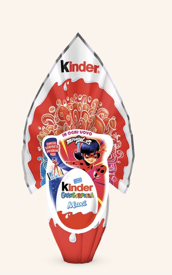 Kinder Easter Egg Maxi Miraculous 220g