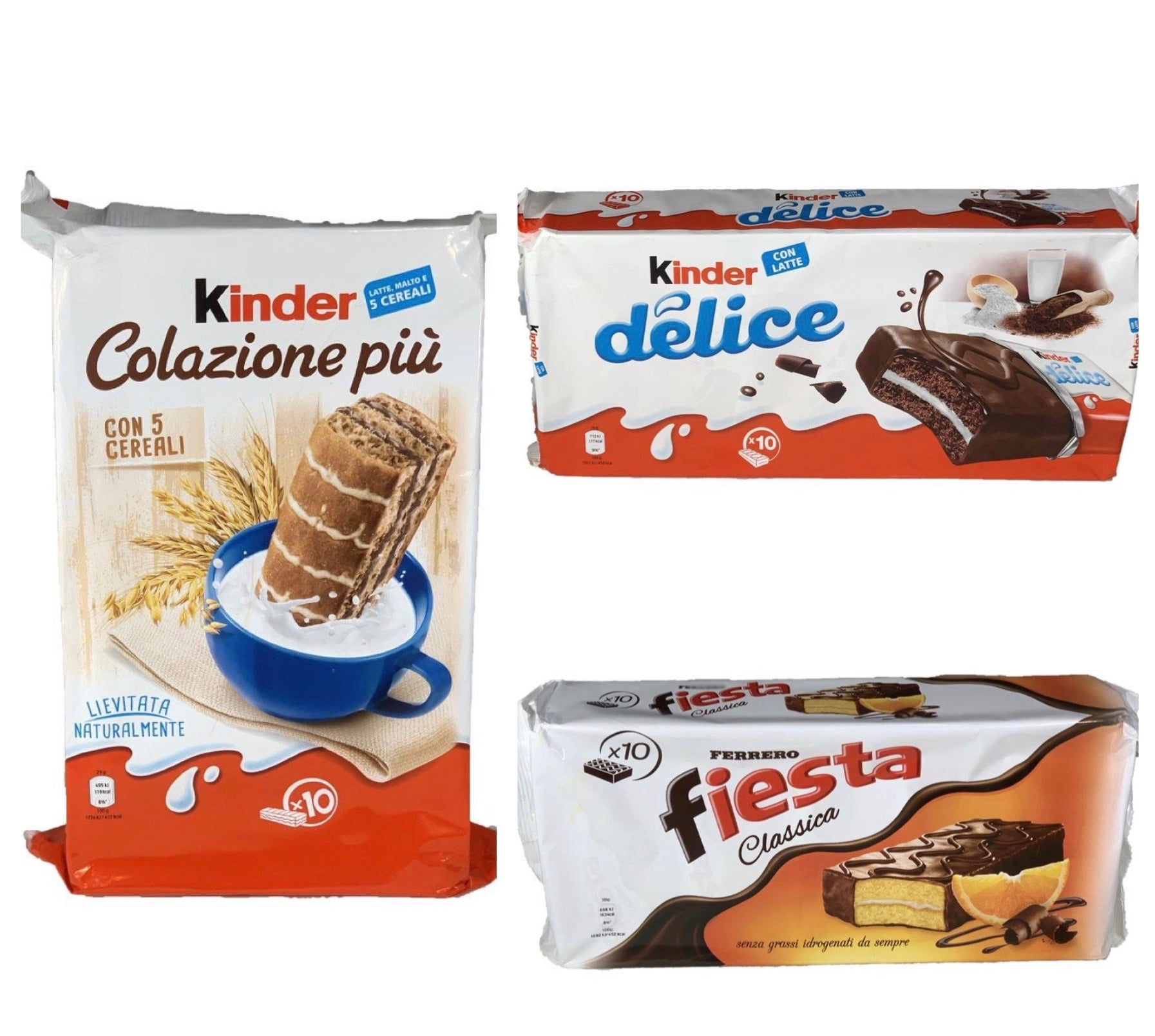 Bundle Italian famous snacks