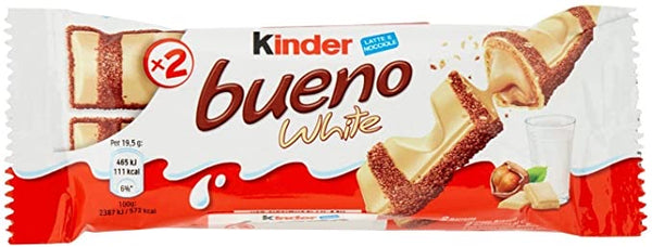 Kinder bueno white 39g made in Italy