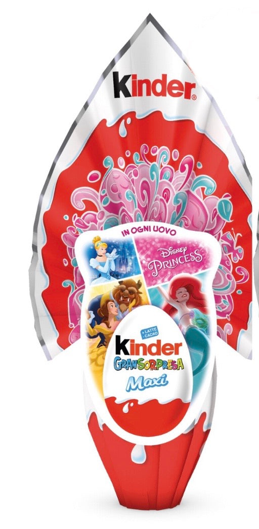 Kinder Easter Egg Maxi, Disney Princess