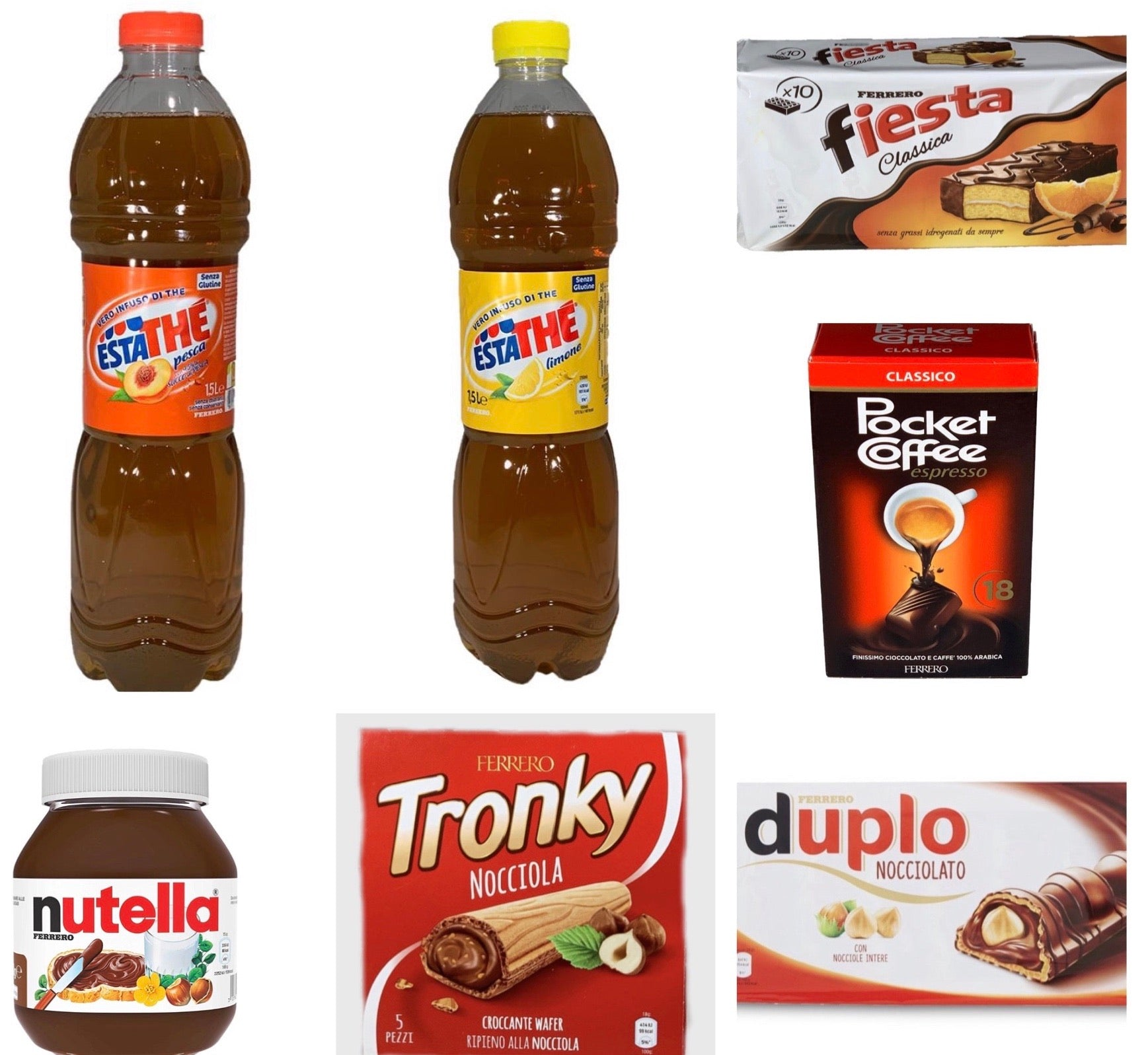FERRERO Bundle drinks & snacks