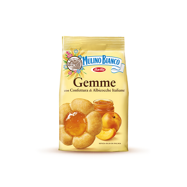 Gemme with apricot jam Mulino Bianco
