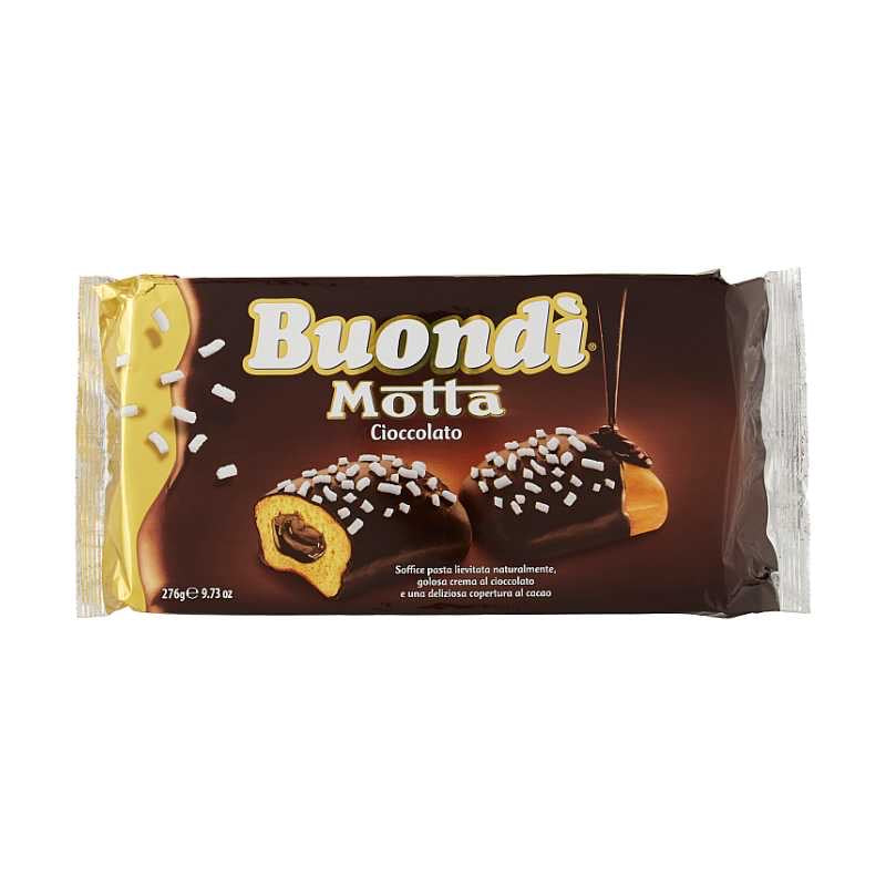 Buondì Motta chocolate 6 snacks